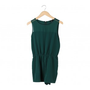 Forever 21 Green Jumpsuit