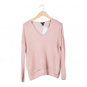 H&M Pink Knit T-Shirt