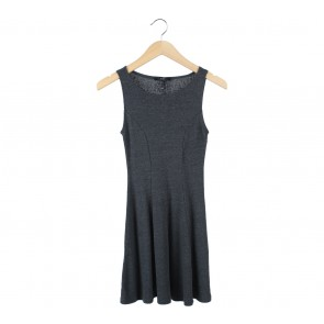 Forever 21 Dark Grey Mini Dress