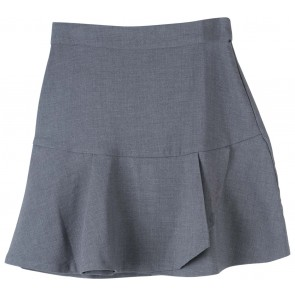Stradivarius Grey Mini Skirt