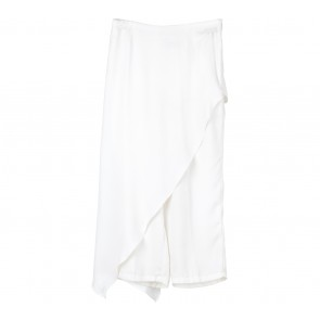 Agree to Shop White Layered Pants