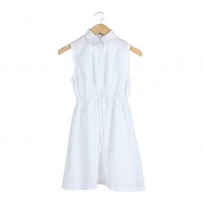 Cotton Ink White Midi Dress