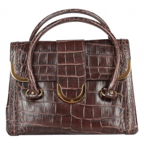 Aigner Dark Brown Handbag