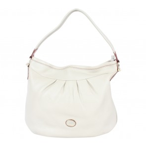 Braun Buffle Cream Shoulder Bag