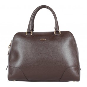 Furla Dark Brown Handbag