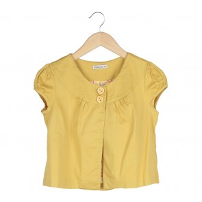 Forever 21 Yellow Outerwear