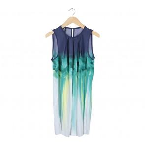 Mango Multi Colour Mini Dress
