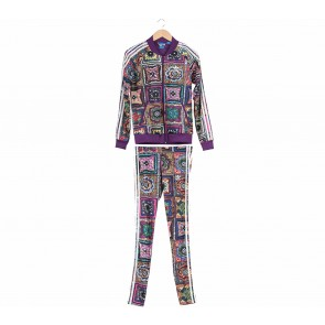 Adidas Multi Colour ( Jacket & Pants ) Two Piece
