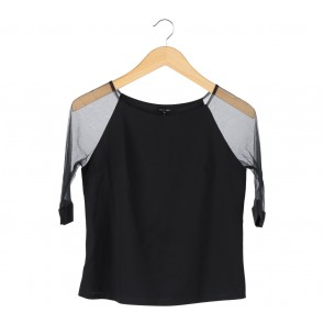 Cloth Inc Black Blouse