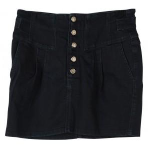 Topshop Blue Jeans Mini Skirt