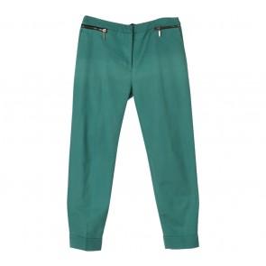 Zara Green Zipper Pants Pants