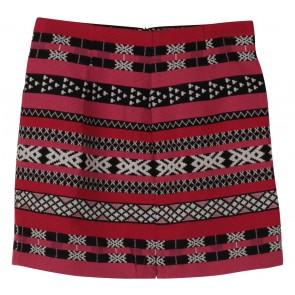 Zara Multi Colour Tribal Bandage Mini Skirt