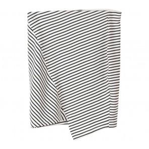 Pull & Bear White Stripes Mini Skirt