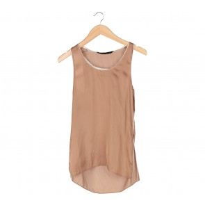 Zara Brown Sleeveless