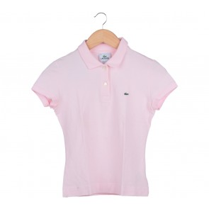 Lacoste Pink Polo T-Shirt