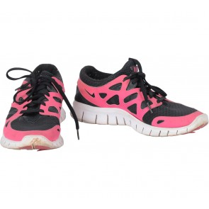 Nike Black And Pink Nike Women´s Free Run Sneakers