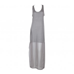 Zara Grey Long Dress