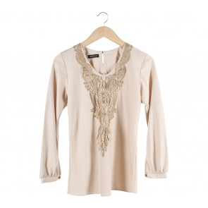 Shop At Velvet Cream Blouse