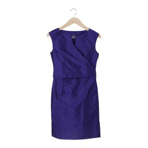 Vesperine Purple Mini Dress