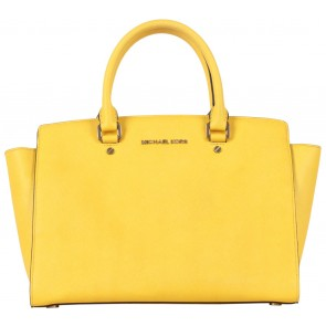 Michael Kors Yellow Selma Tote Bag