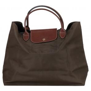 Longchamp Dark Green Le Pliage Handbag