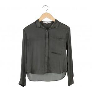 Bershka Dark Green Shirt