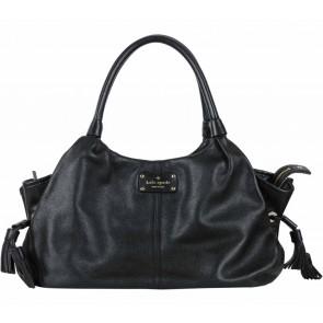 Kate Spade Black Tassel Shoulder Bag