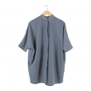 ATS The Label Blue Mini Dress