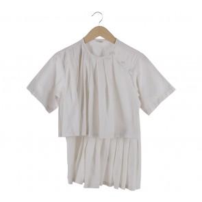 Namirah The Label White Blouse