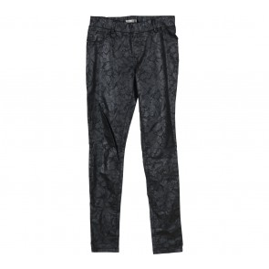 Dorothy Perkins Black Embossed Pants