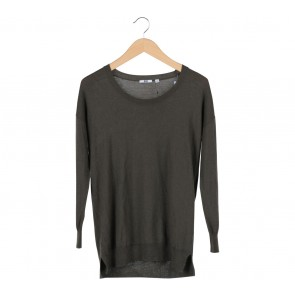 UNIQLO Dark Green Sweater