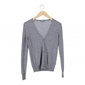 UNIQLO Grey Knitted Cardigan