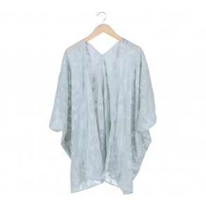 Silla Light Green Leaf Cardigan