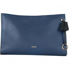 Meraki Goods Blue Clutch