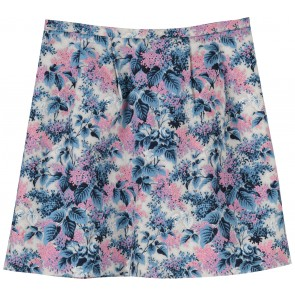 Oasis Multi Colour Floral Skirt