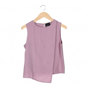 ATS The Label Purple Layered Sleeveless