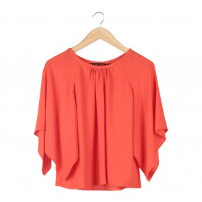 Zara Orange Blouse