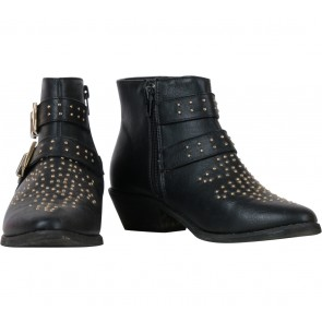 Forever 21 Black Studded Boots