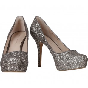 Charles and Keith Grey Heels