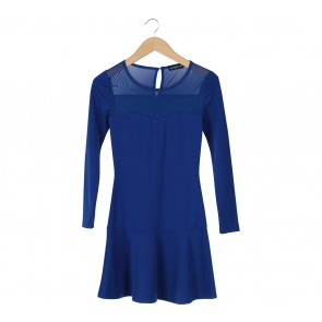Something Borrowed Blue Mini Dress