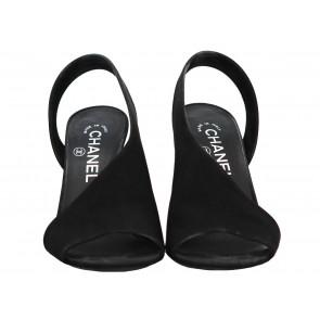 Chanel Black Sandals
