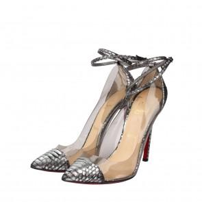 Christian Louboutin Grey Heels
