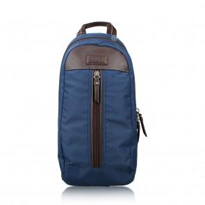 Coach Dark Blue Varick NYL Nylon Backpack