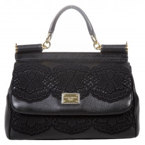 Dolce & Gabbana Black Tote Bag
