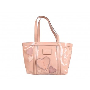 Dolce & Gabbana Nude with Heart Detailing Shoulder Bag