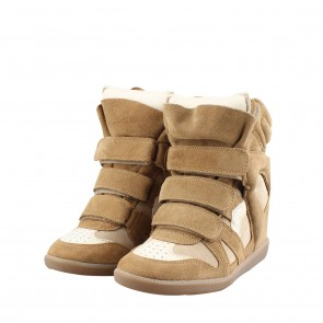 Isabel Marant Bekket Brown Sneakers