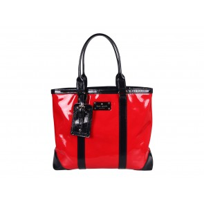 Kate Spade Red Patent Barclay Street Dama Tote Bag