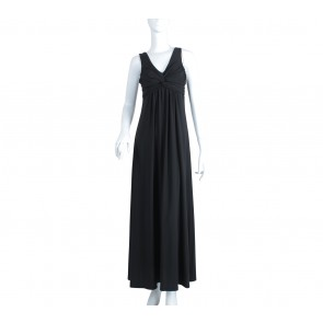 Arithalia Black Long Dress