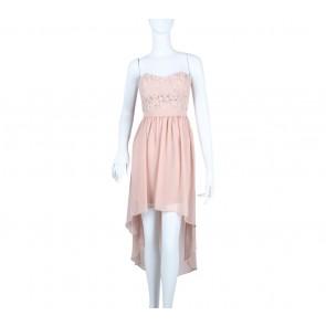 Forever 21 Pink Tube Mini Dress