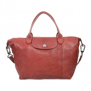 Longchamp Maroon Shoulder Bag